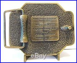1996 John Deere Deer Quest For Excellence Training Belt Buckle Australia # 1/250