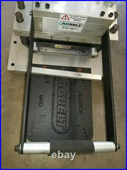 (2) AGBELT Round Hay Baler Belt Clipper Vice Lacer for Mato H series John Deere