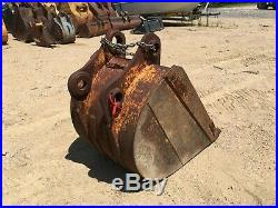 36 hydraulic excavator bucket Case CX210, Link Belt 210LX, John Deere 200