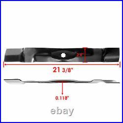 42 Deck Spindles Blades Belt Idlers Pulley Rebuild Kit for John Deere D130