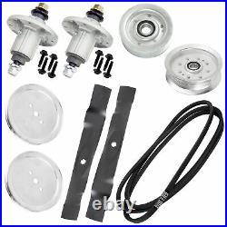 42 Spindle Blade Belt Pulley Kit for John Deere LA100 LA105 LA110 LA115 LA120
