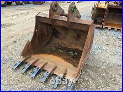 48 Geith Excavator Bucket, 80 mm Pins Fits Case, Deere, Hitachi, Link-Belt