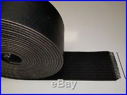 7 x 524 John Deere Round Baler Belts 3 Ply Diamond Top withMATO Lacing