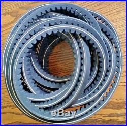 83101791 Set of 4 Cogged Drive Belts Kuhn GMD600 GMD700 112BX N F