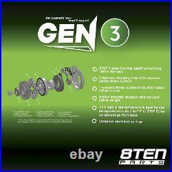 8TEN Belt PTO Clutch Kit For John Deere 717A Mini Frame Ztrak TCU18602 TCA14535