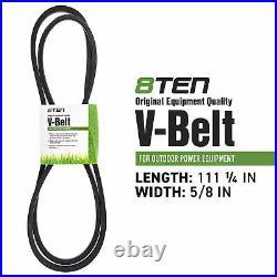 8TEN Belt PTO Clutch Kit For John Deere LX188 M154958 M110313 AM122969 AM118969