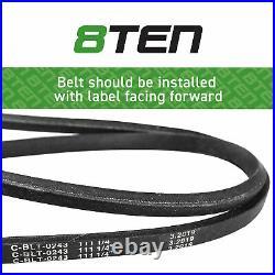 8TEN Belt PTO Clutch Kit For John Deere SST18 M110313 M154958 AM126100