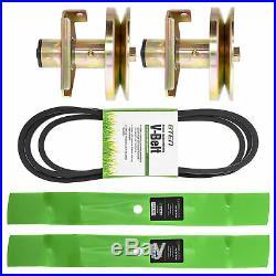 Deck Blade Belt Spindle Kit 42 Inch John Deere Sabre Scotts S1642 S1742 1542