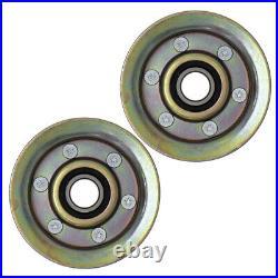 Deck Blade Spindle Belt Idler John Deere LA145 LA165 D140 D150 D160 X140 X165