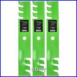 Deck Blade Spindle Belt Idler Kit for Combo Set John Deere 155C LA130 LA140