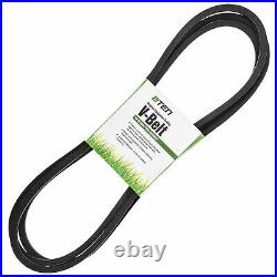 Deck Blade Spindle Belt Kit for John Deere LA145 LA165 D140 D150 D160 X140 X165