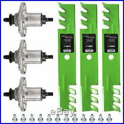 Deck Blade Spindle Screw Kit Combo Set John Deere LA130 LA140 LA145 LA155 LA165