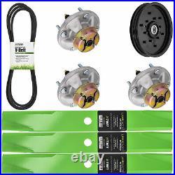 Deck Kit Blade Spindle Belt Idler for John Deere LT166 Lawn Tractors 48 Inch