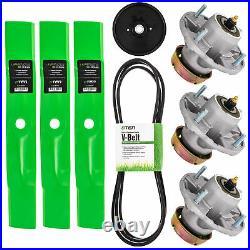 Deck Kit Blade Spindle Belt Idler for John Deere LT180 Lawn Tractors 48 Inch