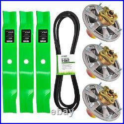 Deck Kit Blade Spindle Belt for John Deere Z950M Z920M Z930M ZTrak 60 Inch