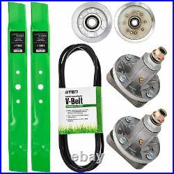 Deck Rebuild Kit Blade Spindle Belt Idler John Deere L100 L110 L118 L111 42 Inch