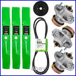 Deck Rebuild Kit Blade Spindle Belt Idler for John Deere X320 X340 54 Inch