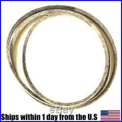 Drive Belt made with Kevlar for John Deere M144044 LT150 LT160 LT170 LT180 LT190