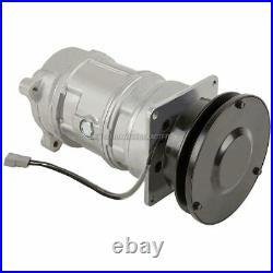 For John Deere AC Compressor & V-Belt A/C Clutch Replaces A6 SE501457 GAP