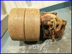 Ford 8N 9N Flat Belt Pulley Dearborn 22-44 Cordwood Buzz Slab Saw