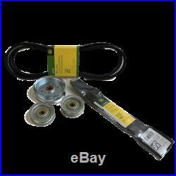 GX21833 GY22082 GY22172(2) GY20852 John Deere OEM 48-inch Deck Belt Blades Idler