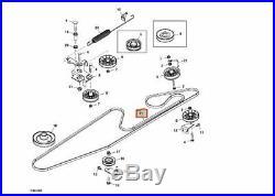 Genuine JOHN DEERE drive belt for X300R, X305R