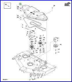 Genuine John Deere Belt Cover TCU12631 1400 + 1500 Series