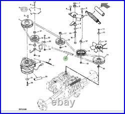 Genuine John Deere Belt M142499 Mower Transmission Belt GX325 GX335 GX345 GX355
