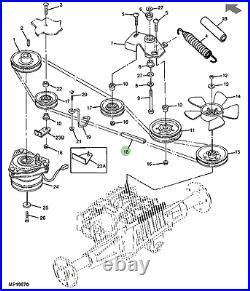 Genuine John Deere Drive Belt M131808 325 335 345 355D
