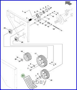 Genuine John Deere Mower Conditioner Belt Set DC201758 131 190 324 328 331 381
