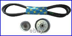 Idler Pulley Kit with 42 Deck Belt Fits John Deere LA100 LA105 LA110 LA115