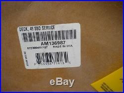 JD 48C MOWER DECK Single Belt Style SHELL ONLY X300 X500 John Deere NEW IN BOX