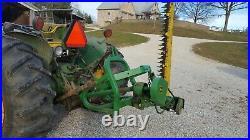 JOHN DEERE 350 SICKLE BAR MOWER. 7 FOOT CUT. BELT DRIVE Tractor mower