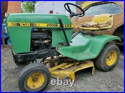 John Deere 108 Lawn Tractor Riding Mower