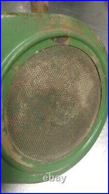 John Deere 110 112 Round Fender Starter Generator Belt Cover Original Paint