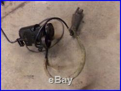 John Deere 110 8HP Hydraulic Lift Pump and Cylinder Mounting Bracket Belt