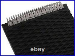 John Deere 375 Round Baler Belts Complete Set 3 Ply Diamond Top withMATO Lacing