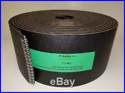 John Deere 385 Round Baler Belts Complete Set 3 Ply Diamond Top withMATO Lacing