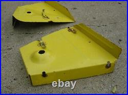 John Deere 420 430 L&g Tractor 60 Mower Deck Belt Covers Late Style
