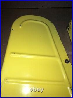 John Deere 425 445 455 Tractor 60 Lawn Mower Deck Metal Belt Covers