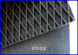 John Deere 430 Round Baler belts Complete Set 3 Ply Diamond Top withAlligator Lace