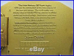 John Deere 4440 Tractor 7721 Combine Barn Belt Buckle Timeless Legends 2003 jd