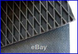 John Deere 457 Silage Round Baler Belts Set 3 Ply Diamond Top withAlligator Lace