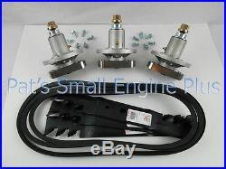 John Deere 48 Spindle Mulching Blade Belt Hdwr Kit L120 L130 Scotts L2048 L2548