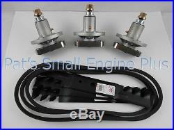 John Deere 48 Spindle, Mulching Blade, Belt Kit, L120, L130, Scotts L2048 L2548