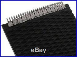 John Deere 535 Round Baler Belts Complete Set 3 Ply Diamond Top withMATO Lacing