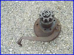 John Deere A square axle JD tractor left brake assembly with foot pedal