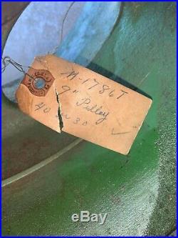 John Deere Belt Pulley N. O. S. M-1786-T