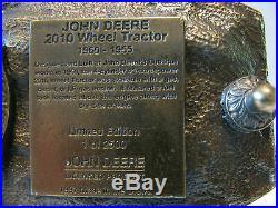 John Deere Dubuque Works 2010 Wheel Tractor 1997 Belt Buckle Ltd Ed