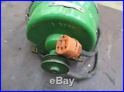 John Deere Fairbanks Morse Belt Drive 120 Volt A. C. Generator Rare